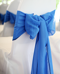 Blue Chair Sash Rentals
