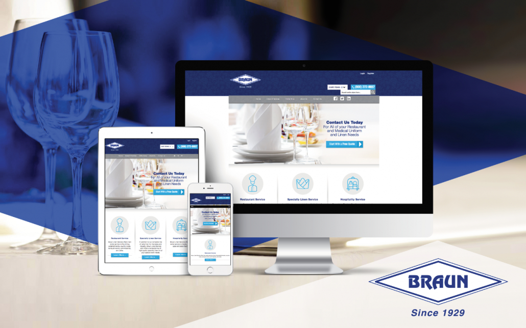 new website launch braun